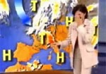 Hysterical German Weather Lady